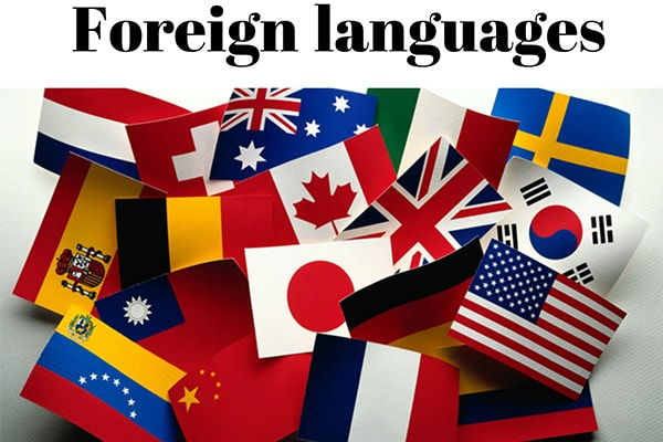 языки, флаги фото