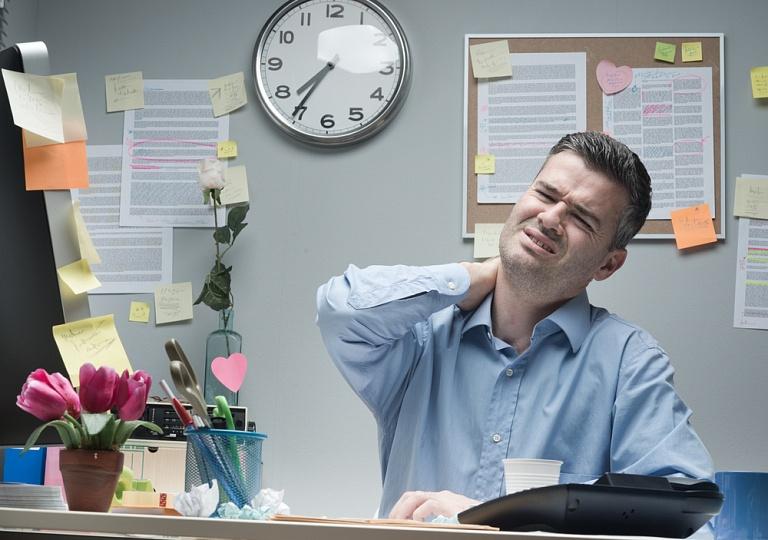 разминка при сидячей работе