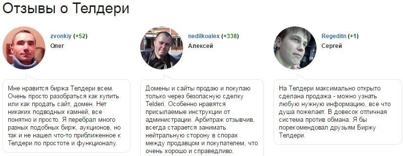 телдери биржа сайтов отзывы