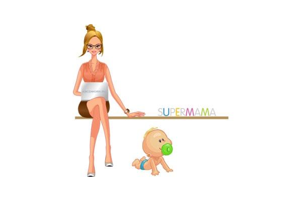 SUPERMAMA - заработок для мам в декрете фото