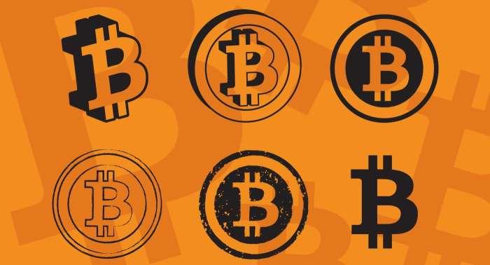 Векторные иконки биткоинов фото