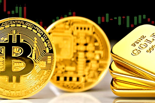 Изменение курса биткоинов фото