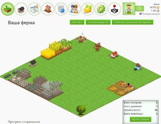 fattoria - вид фермы