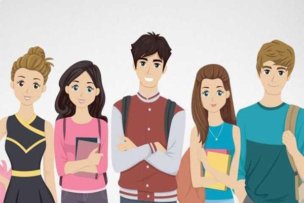 Фото с подростками