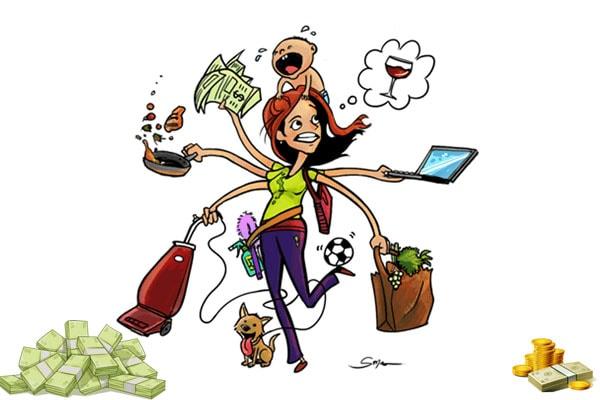 Заработок мамы в декрете фото
